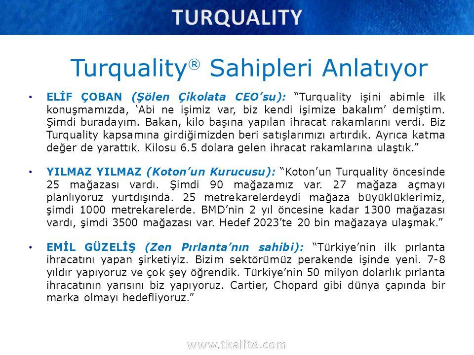 """Turquality ® Sahipleri Anlatıyor ELİF ÇOBAN (Şölen Çikolata CEO'su): """"Turquality işini abimle ilk konuşmamızda, 'Abi ne işimiz var, biz kendi işimize"""