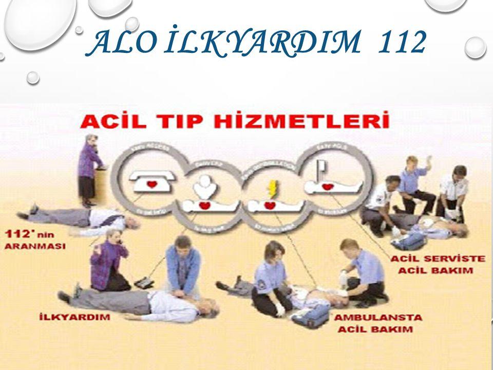 ALO İLKYARDIM 112