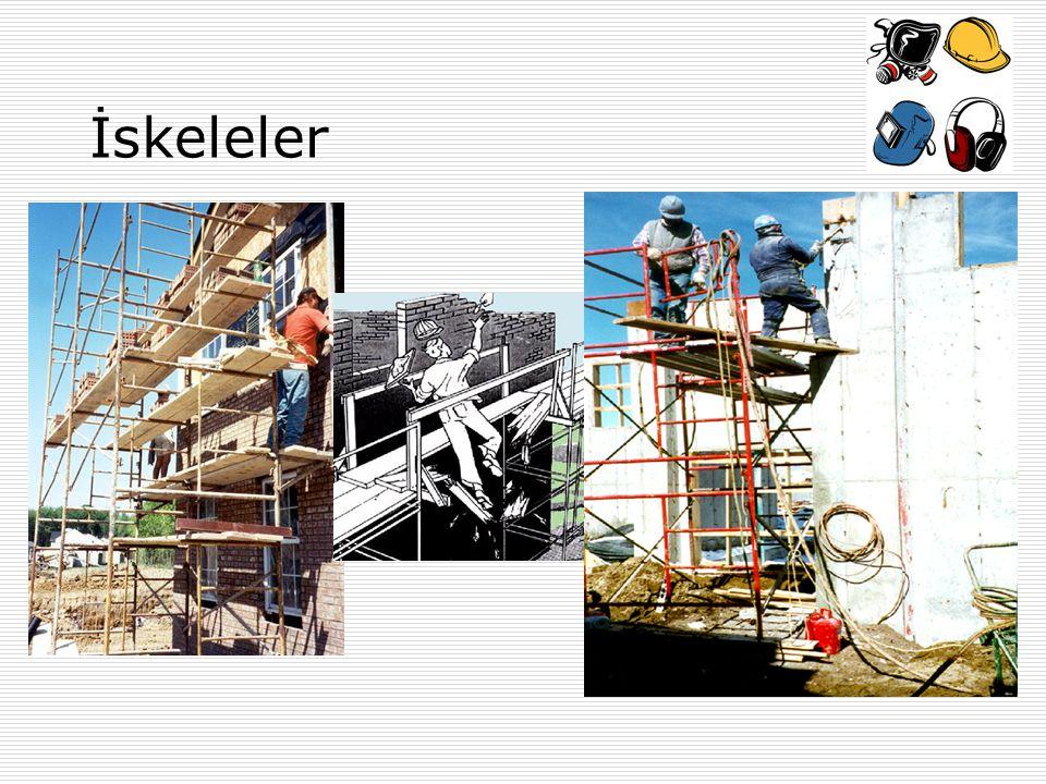 Merdivenlerin Güvenli Kullanımı Merdiven-El Merdivenleri Bütün merdivenler düzenli olarak denetlenmeli ve aksaklıklar giderilmelidir.