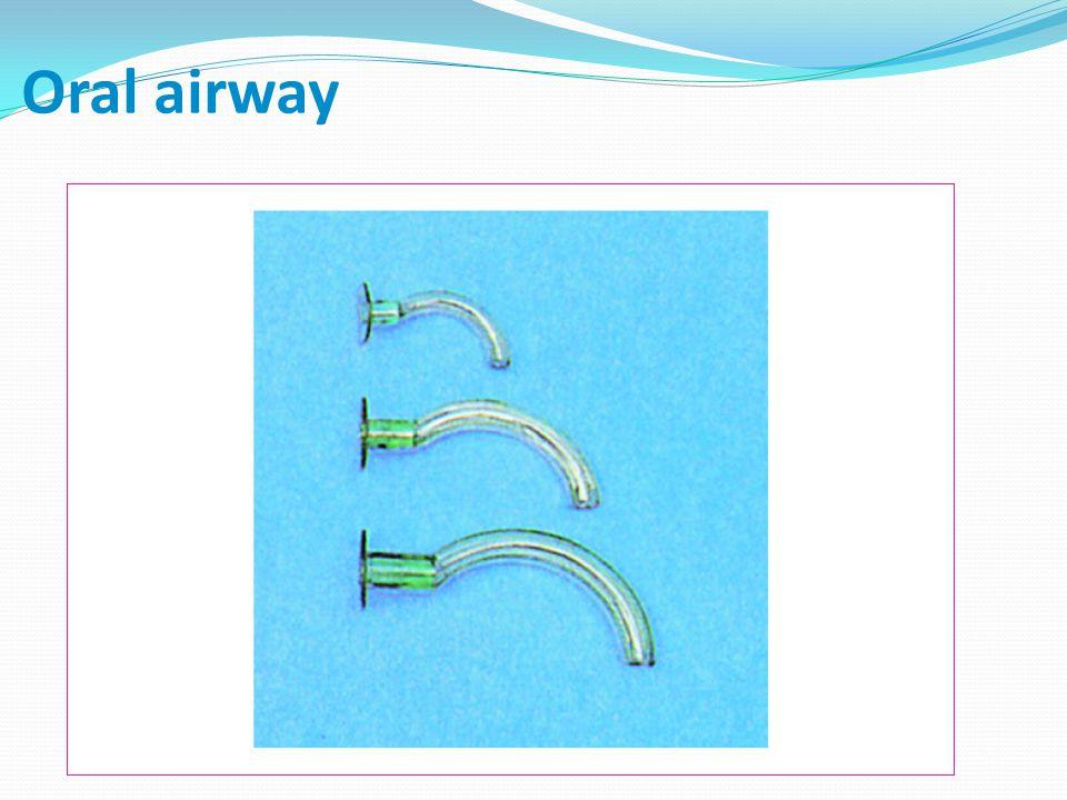 Oral airway