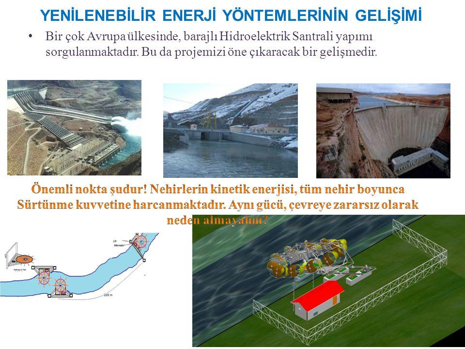 Bir çok Avrupa ülkesinde, barajlı Hidroelektrik Santrali yapımı sorgulanmaktadır.