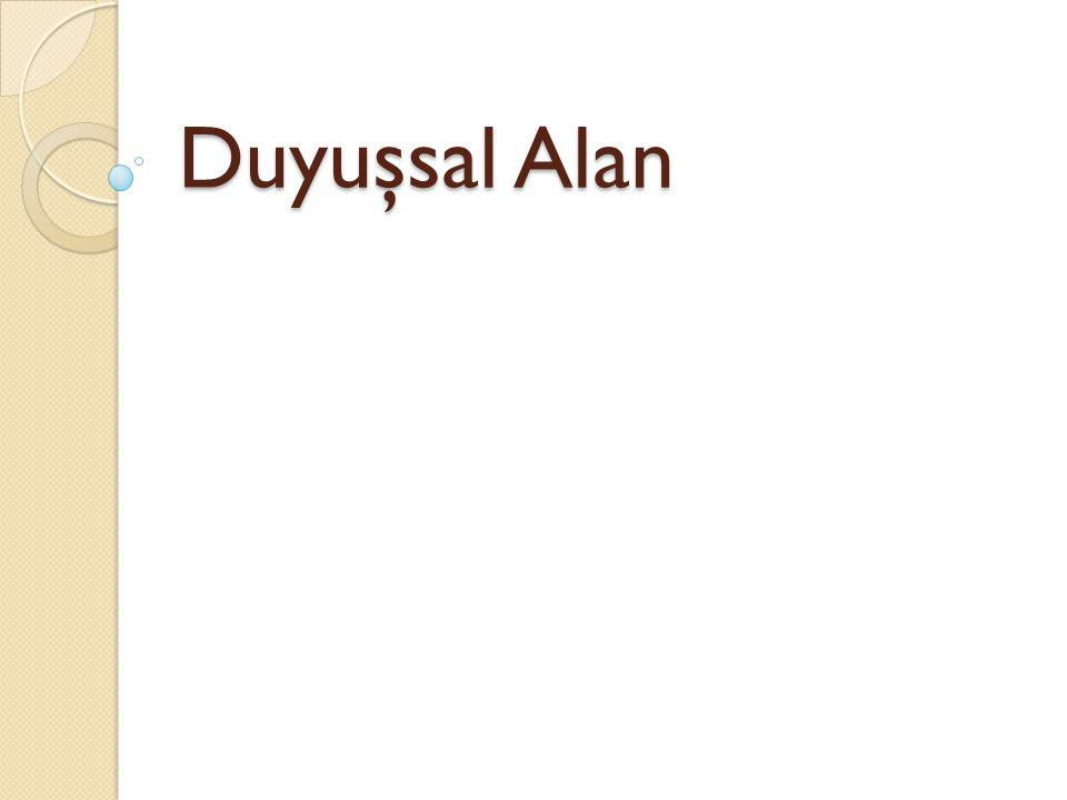 Duyuşsal Alan