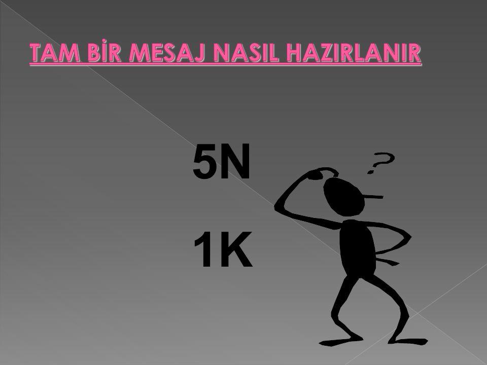 5N 1K