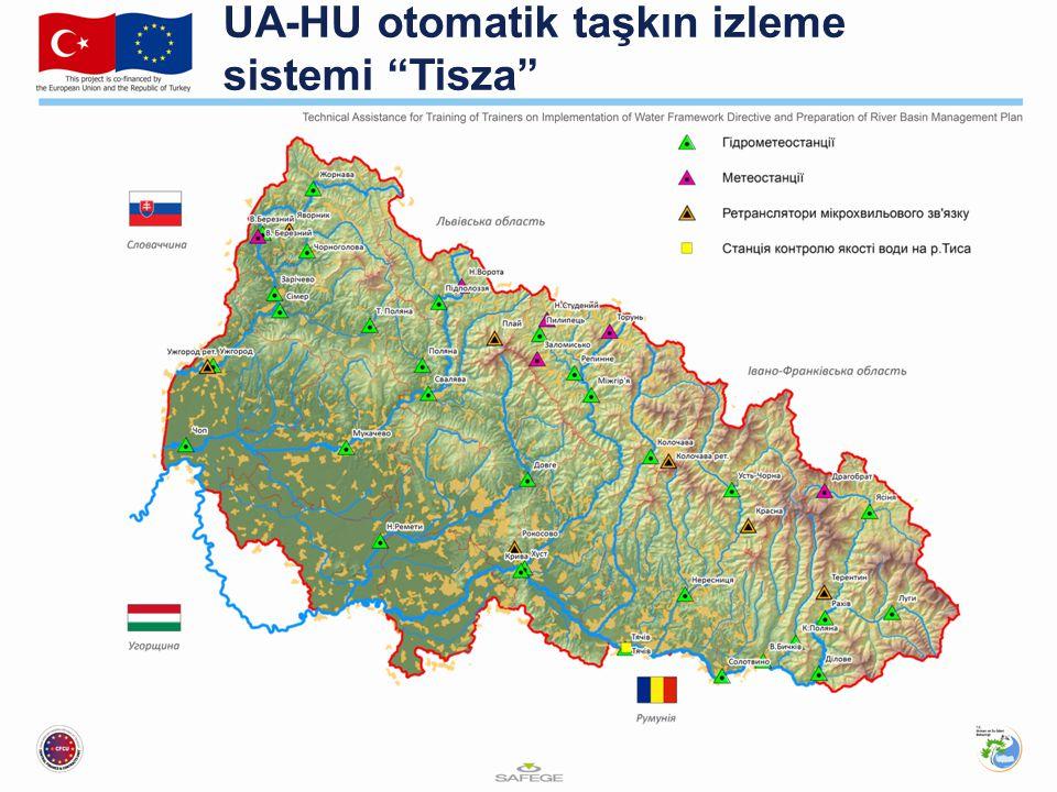 UA-HU otomatik taşkın izleme sistemi Tisza