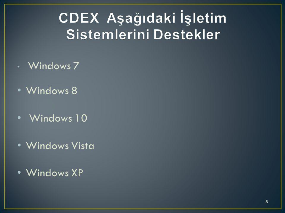 CDEX sürekli güncellenmektedir ve son sürümleri, CDDB sorgulama için kodlayıcı güncellemeleri, daha iyi yapılandırma ayarlarını, iyileştirmeler dahil yeni yükleyici dilleri, güncelleştirilmiş bir CD-ROM sürücü uzaklıklar eklendi ve yeni yükleyici dilleri ekledi.