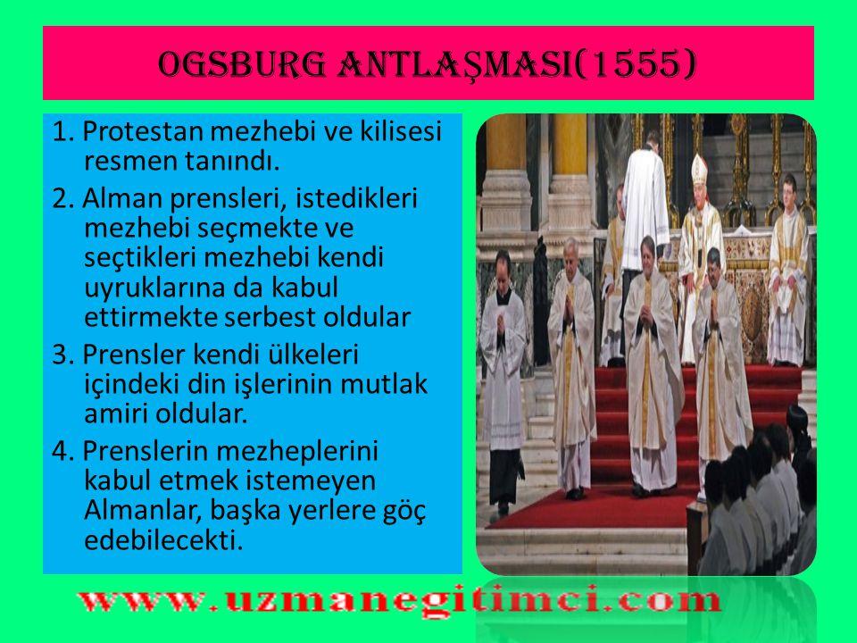 REFORM'UN OSMANLI'YA ETK İ LER İ  Avrupa'da yaşanan Reform hareketleri Osmanlı ülkesinde etkili olmamıştır. Osmanlı Devleti, hakimiyeti altında yaşay