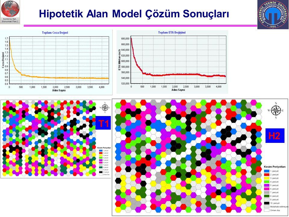 Ali İhsan KADIOĞULLARI, K.T.Ü. 2012 Trabzon Hipotetik Alan Model Çözüm Sonuçları T1 H2