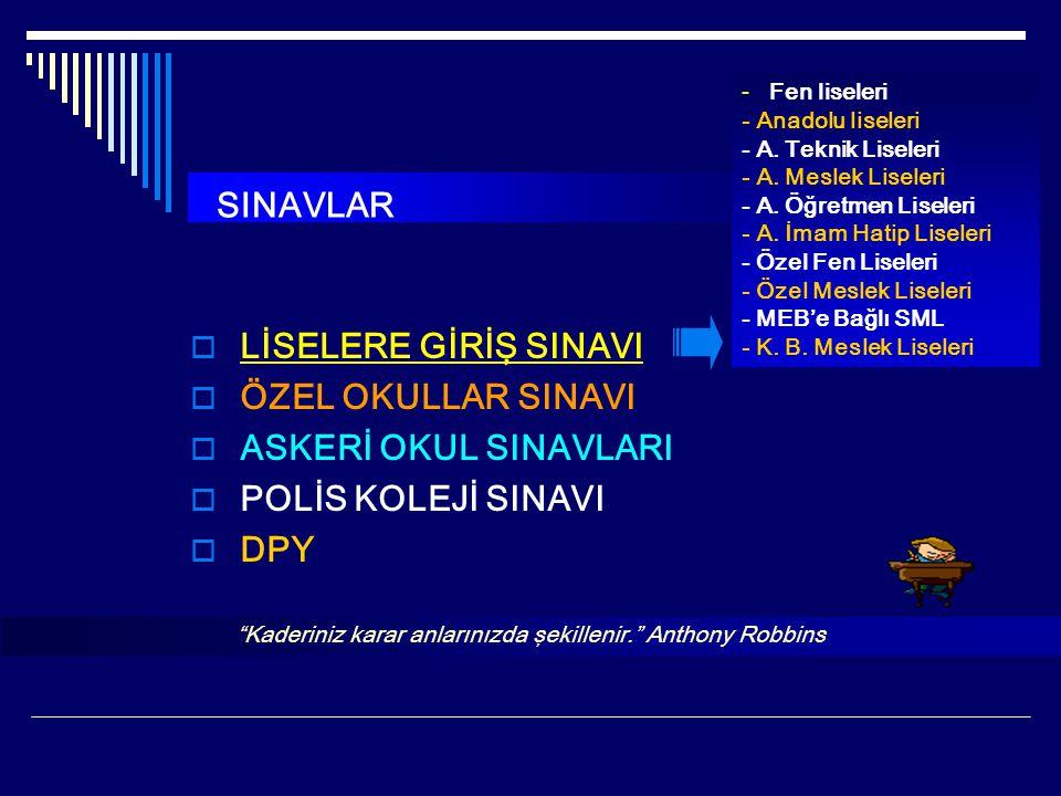 SEVİYE BELİRLEME SINAVI (SBS) 2013  8.