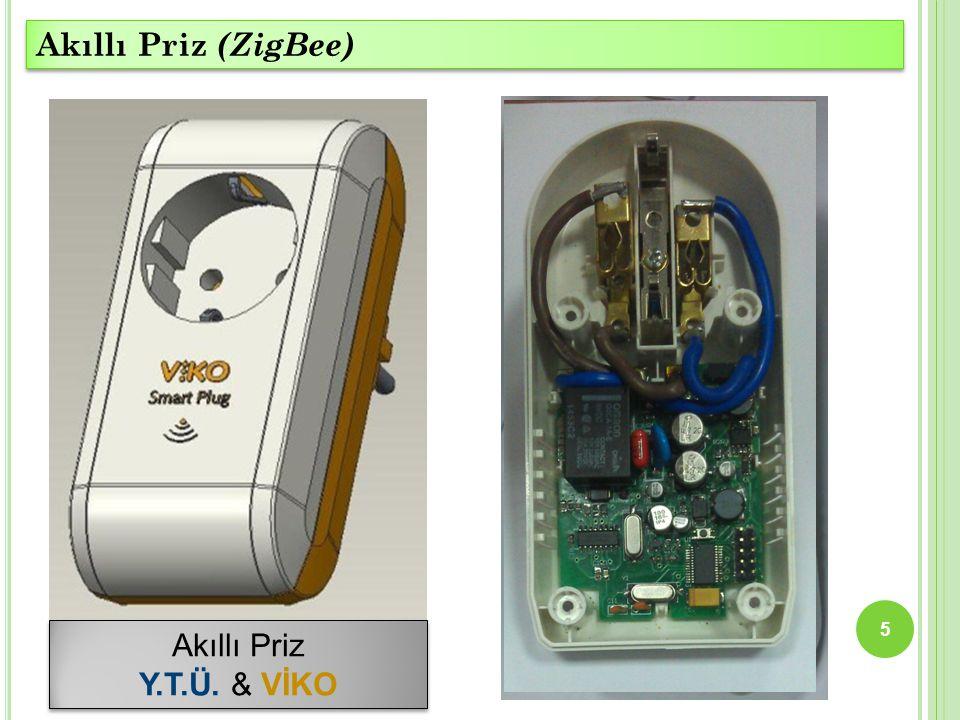 5 Akıllı Priz Y.T.Ü. & VİKO Akıllı Priz Y.T.Ü. & VİKO Akıllı Priz (ZigBee)
