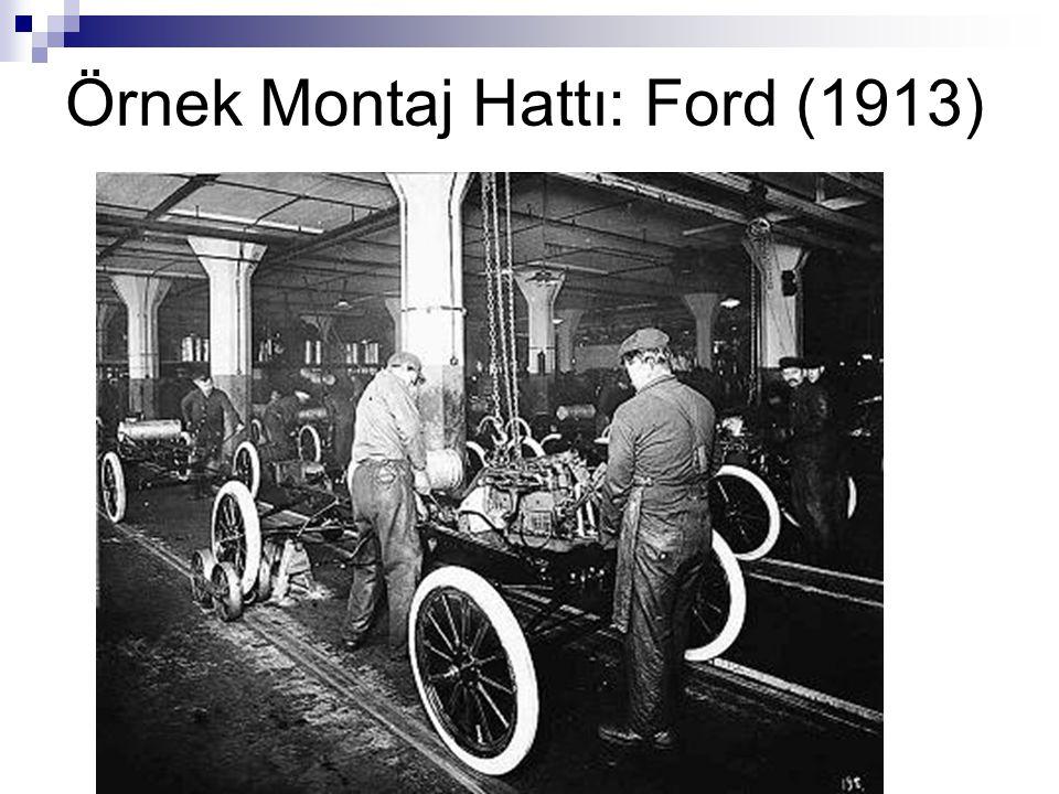 Örnek Montaj Hattı: Ford (1913)