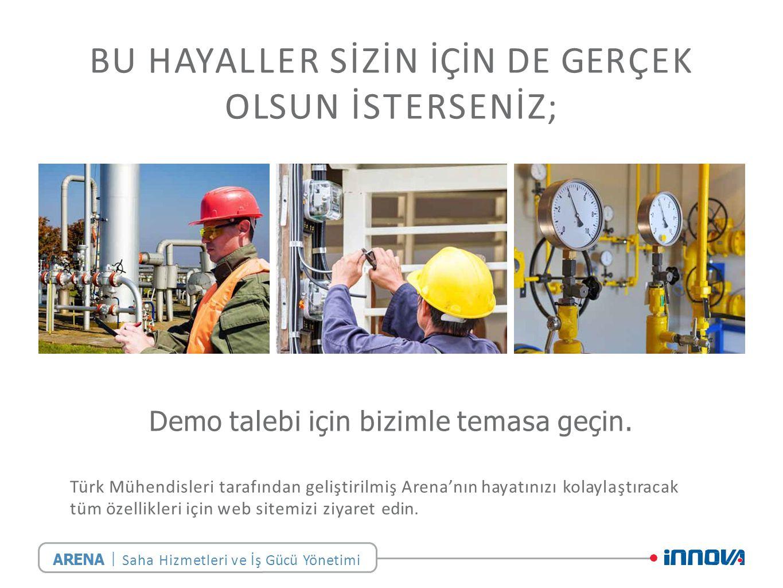 BU HAYALLER SİZİN İÇİN DE GERÇEK OLSUN İSTERSENİZ; Türk Mühendisleri tarafından geliştirilmiş Arena'nın hayatınızı kolaylaştıracak tüm özellikleri için web sitemizi ziyaret edin.