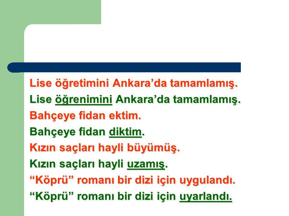 Lise öğretimini Ankara'da tamamlamış.Lise öğrenimini Ankara'da tamamlamış.