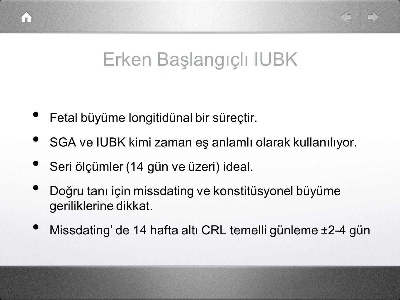 Erken Başlangıçlı IUBK 33.Hafta altında doğan 604 yenidoğan % 35,9' da majör morbidite izlendi.