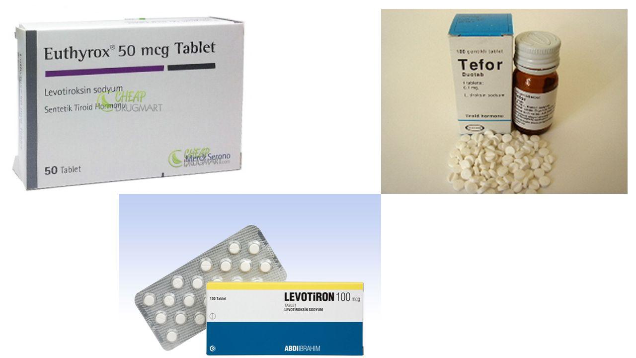 A ş ikar Hipotiroidi Tedavisi Hipotiroidide replasman tedavisi levotiroksin ile yapılmalıdır. (Levotiron®, Tefor®, Euthyrox®) Levotiroksin sabah aç ka