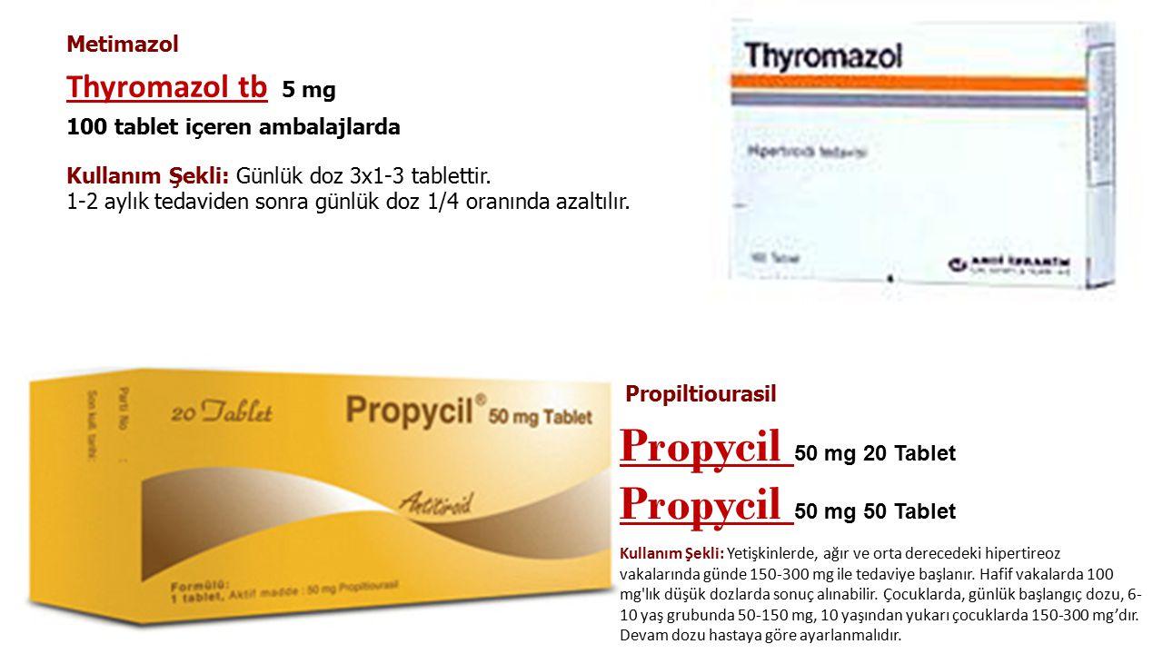 Tedavi Asemptomatik genç hastalar tedavi edilmeden izlenebilir. Genç semptomatik ve/veya kardiyak riski olanlarda dü ş ük doz antitiroid ilaç kullanıl