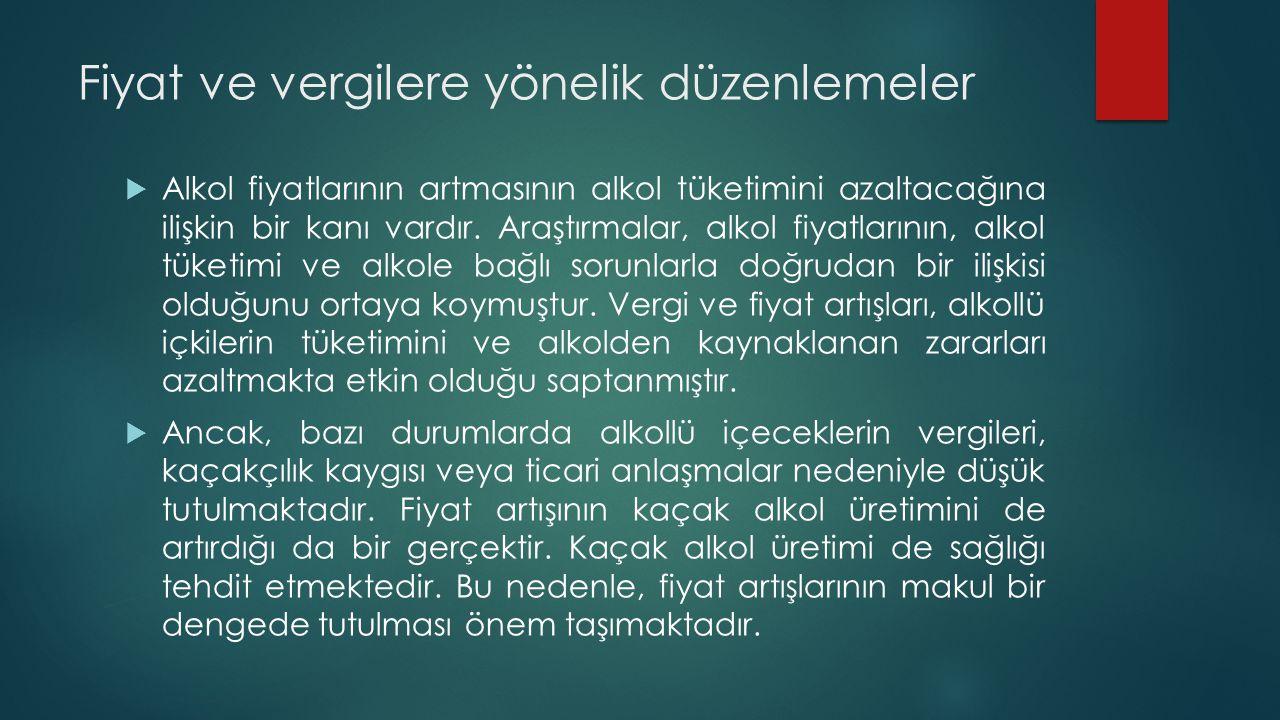 KAYNAKÇA  Ögel, K.(2010). Sigara, alkol ve madde kullanım bozuklukları: tanı, tedavi ve önleme.
