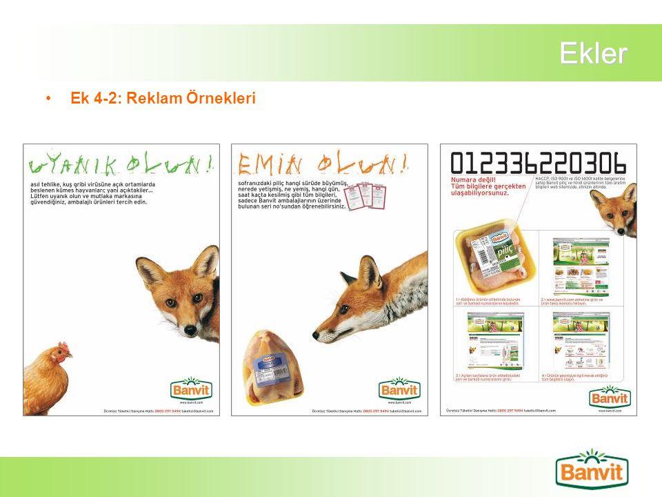 Ekler Ek 4-2: Reklam Örnekleri