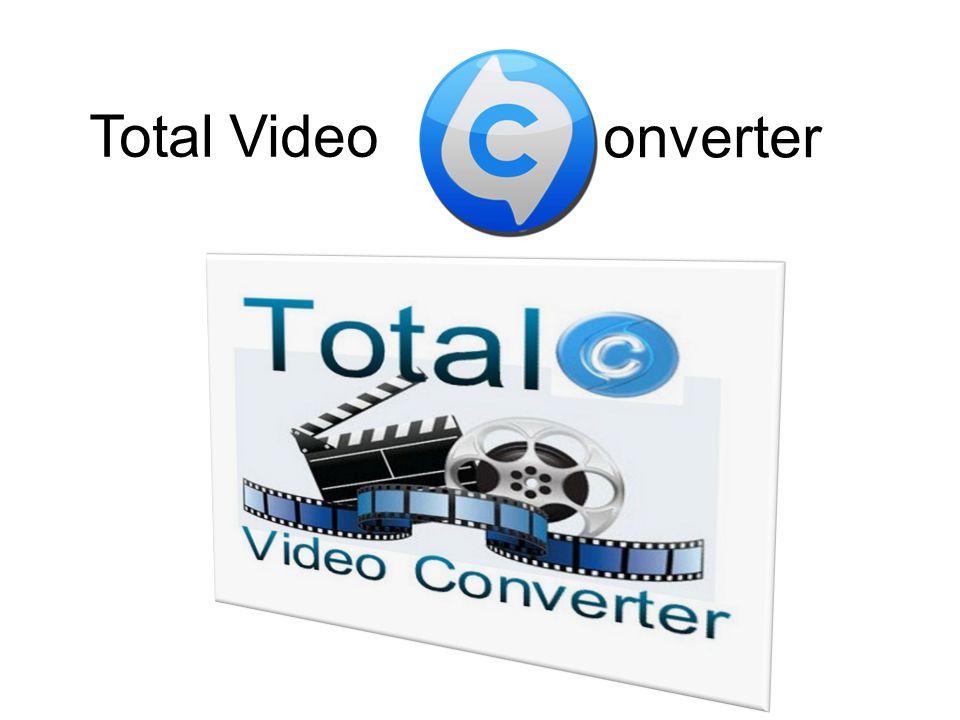 Total Video Converter üstün özellikli bir video ve ses dönüştürme programıdır.