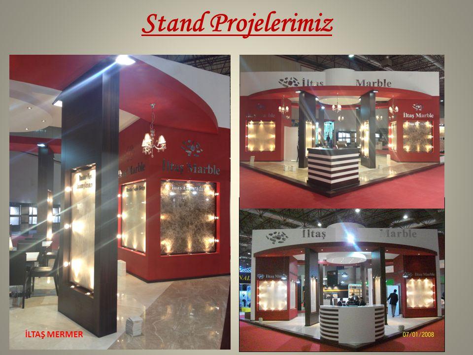 Stand Projelerimiz İLTAŞ MERMER