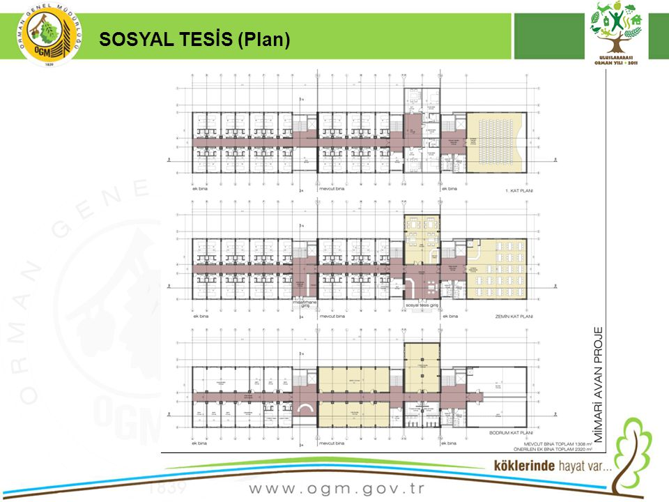 16/12/2010 Kurumsal Kimlik 17 SOSYAL TESİS (Plan)