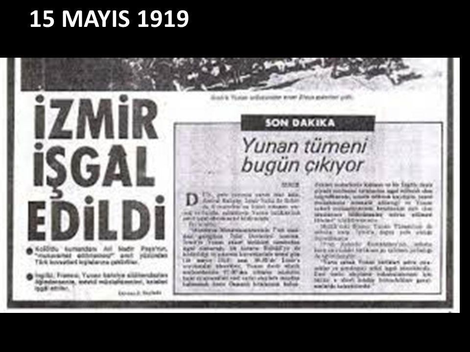 15 MAYIS 1919
