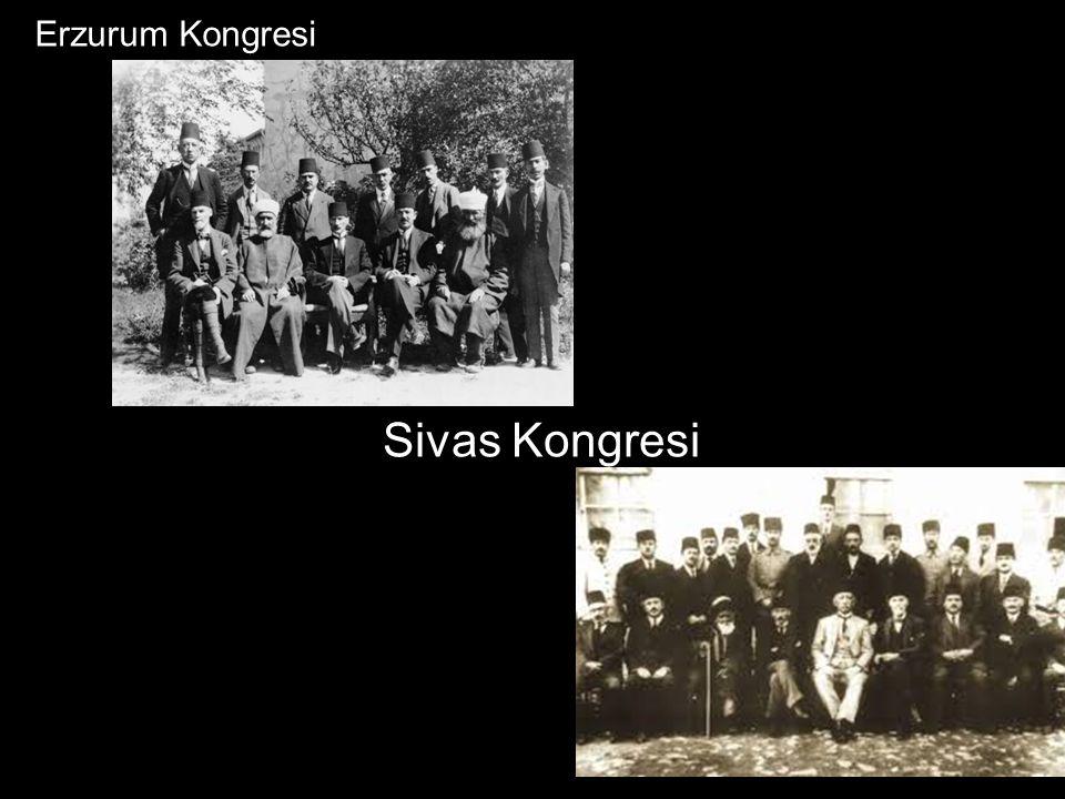 Sivas Kongresi Erzurum Kongresi