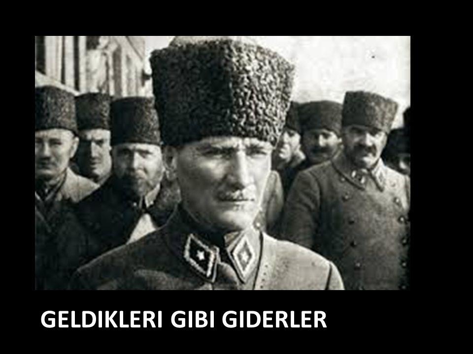 GELDIKLERI GIBI GIDERLER