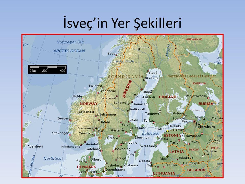 İsveç'in Yer Şekilleri