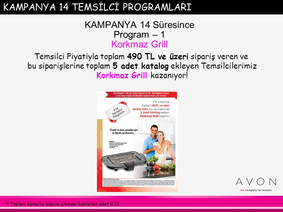 KAMPANYA 12-14 Yeni Temsilci Geli ş tirme Programı