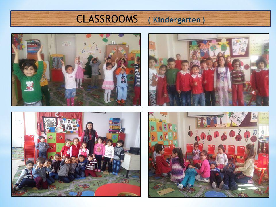 CLASSROOMS ( Kindergarten )