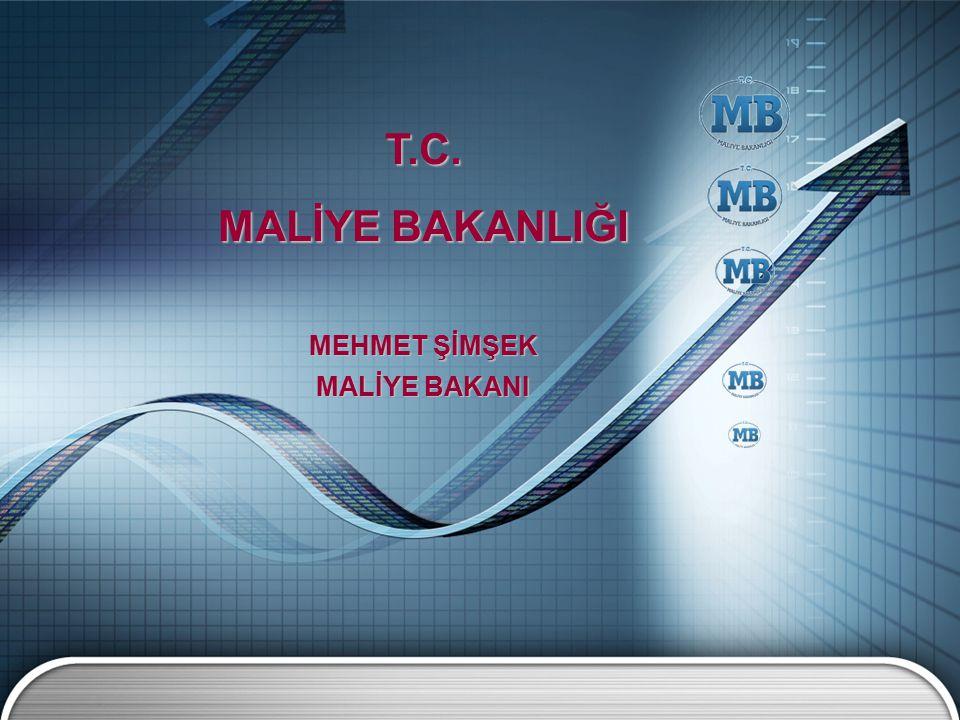 T.C. MALİYE BAKANLIĞI MEHMET ŞİMŞEK MALİYE BAKANI