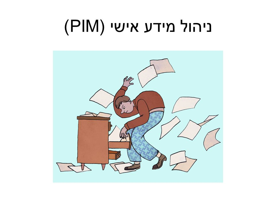 ניהול מידע אישי (PIM)