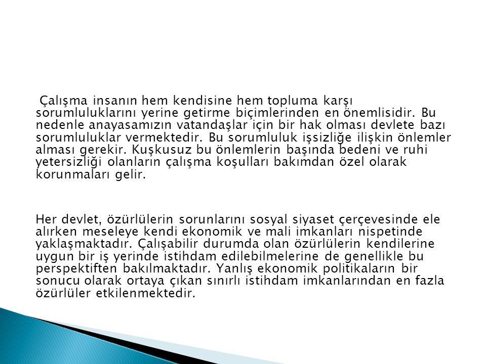 İŞKUR kendi işini kurmak isteyen eski hükümlü ve engellilere 9 milyon hibe desteği sağladı. Türkiye İş Kurumu (İŞKUR), engelli ve eski hükümlü çalıştı