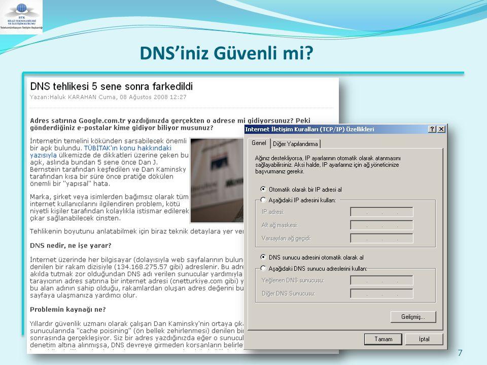 DNS'iniz Güvenli mi? 7
