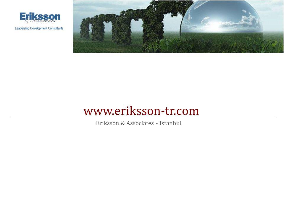 www.eriksson-tr.com 2009 August Eriksson & Associates - Istanbul