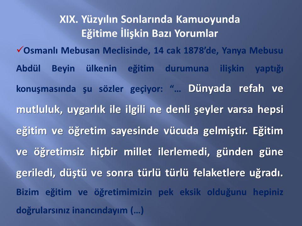 ÖZEL AMAÇLAR MİLLİ EĞİTİM TEMEL KANUNU Madde 20.
