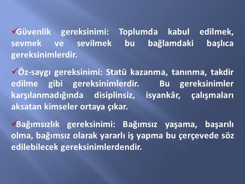 Türk Milli Eğitiminin genel amacı, Türk Milletinin bütün fertlerini, Atatürk inkılap ve ilkelerine ve Anayasada ifadesini bulan Atatürk milliyetçiliğine bağlı; Türk Milletinin milli, ahlaki, insani; manevi ve kültürel değerlerini benimseyen, koruyan ve geliştiren; ailesini, vatanını, milletini seven ve daima yüceltmeye çalışan; insan haklarına ve Anayasanın başlangıcındaki temel ilkelere dayanan demokratik, laik ve sosyal bir hukuk devleti olan Türkiye Cumhuriyetine karşı görev ve sorumluluklarını bilen ve bunları davranış haline getirmiş yurttaşlar yetiştirmek; GENEL AMAÇLAR