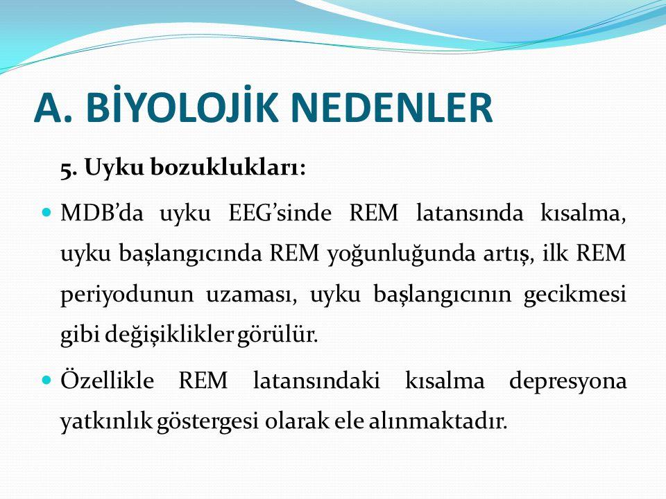 A.BİYOLOJİK NEDENLER 5.
