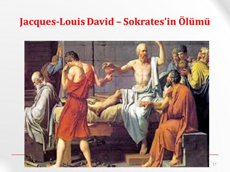 Jacques-Louis David – Sokrates'in Ölümü 17