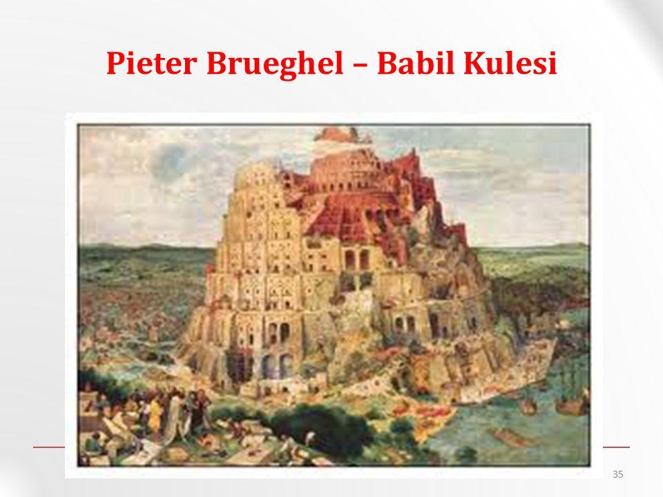 Pieter Brueghel – Babil Kulesi 35