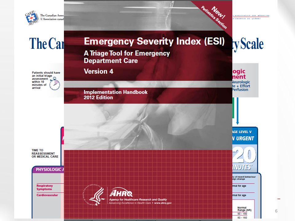 ESI seviye 2  ESI seviye 2' ye atanma da hastanın klinik durumuna göre yapılmaktadır.