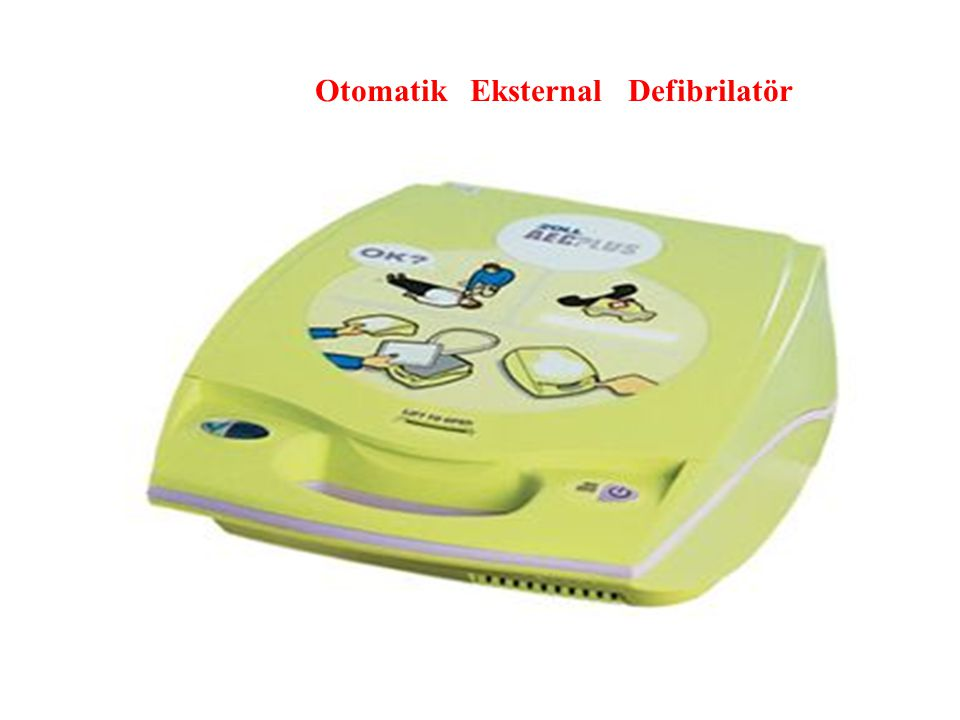Introduction to AED Otomatik Eksternal Defibrilatör