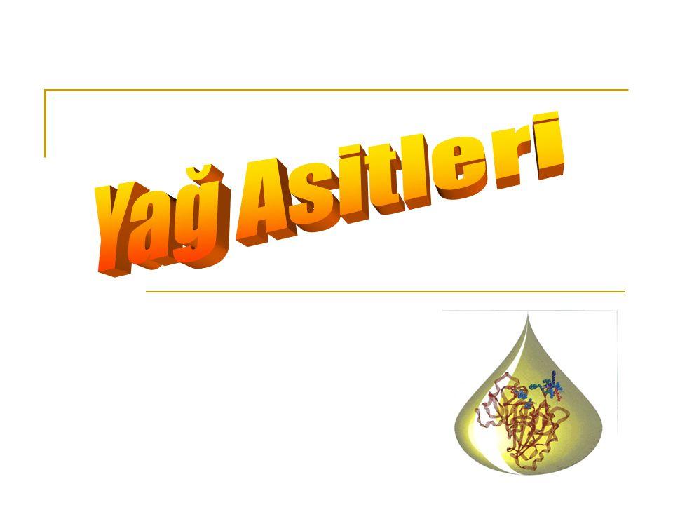 Gerek hayvansal yağlar gerekse bitkisel yağlar, yağ asitlerinin gliserol ile oluşturdukları esterlerdir.