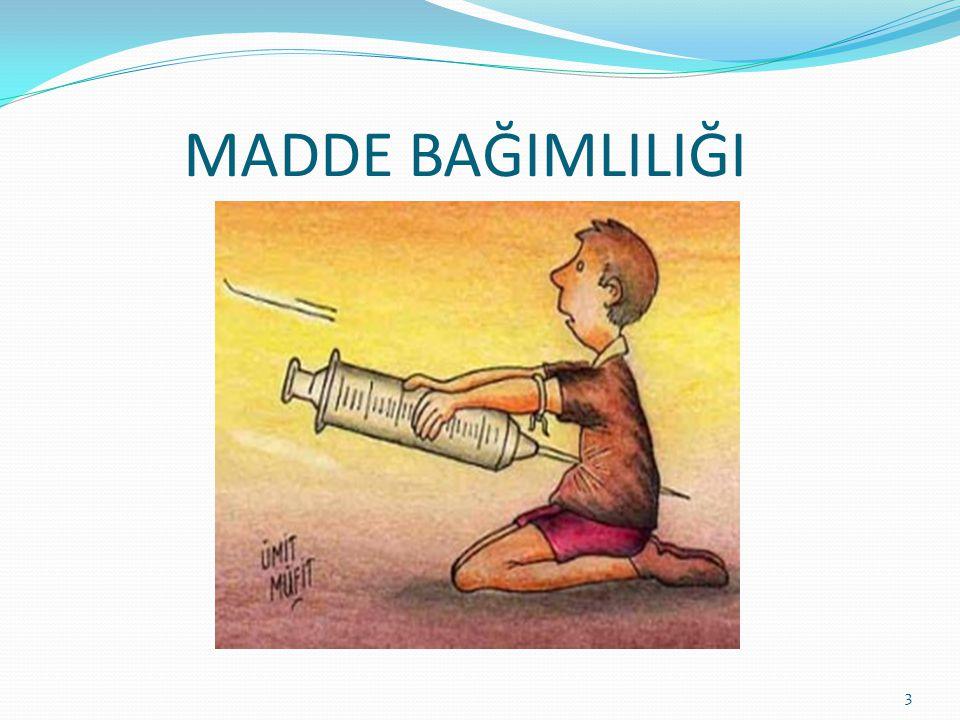 2) Doyma dönemi: Bu dönemde kişi yaşantısını devam ettirebilmek için uyuşturucu maddeyi kullanmak zorundadır.
