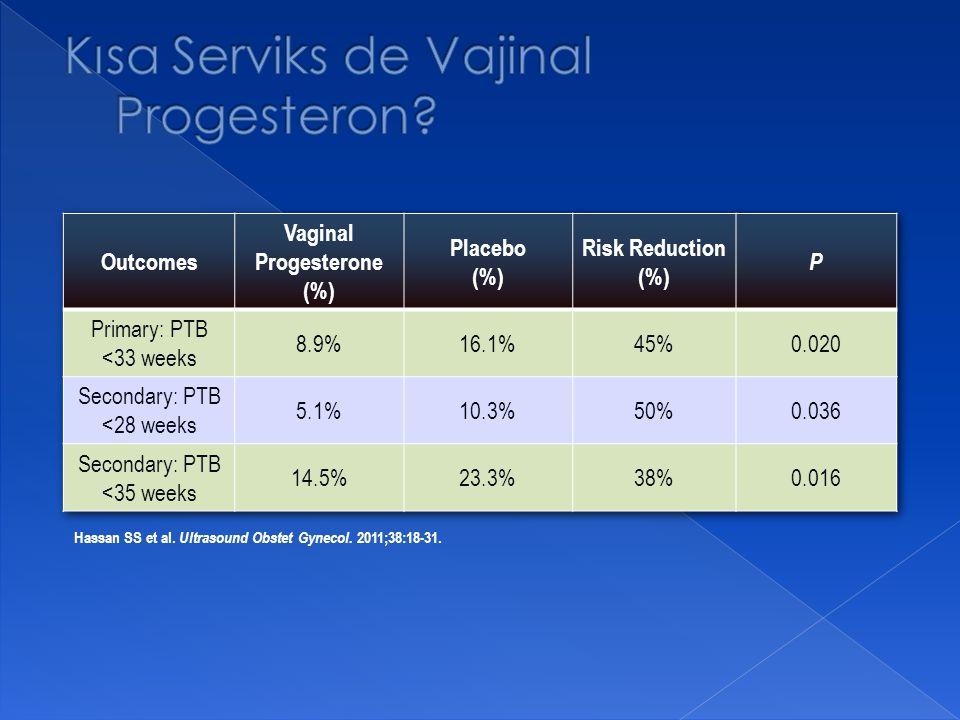 Hassan SS et al. Ultrasound Obstet Gynecol. 2011;38:18-31.