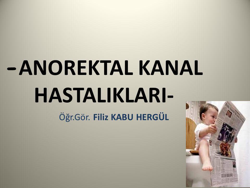 ANAL FİSSÜR