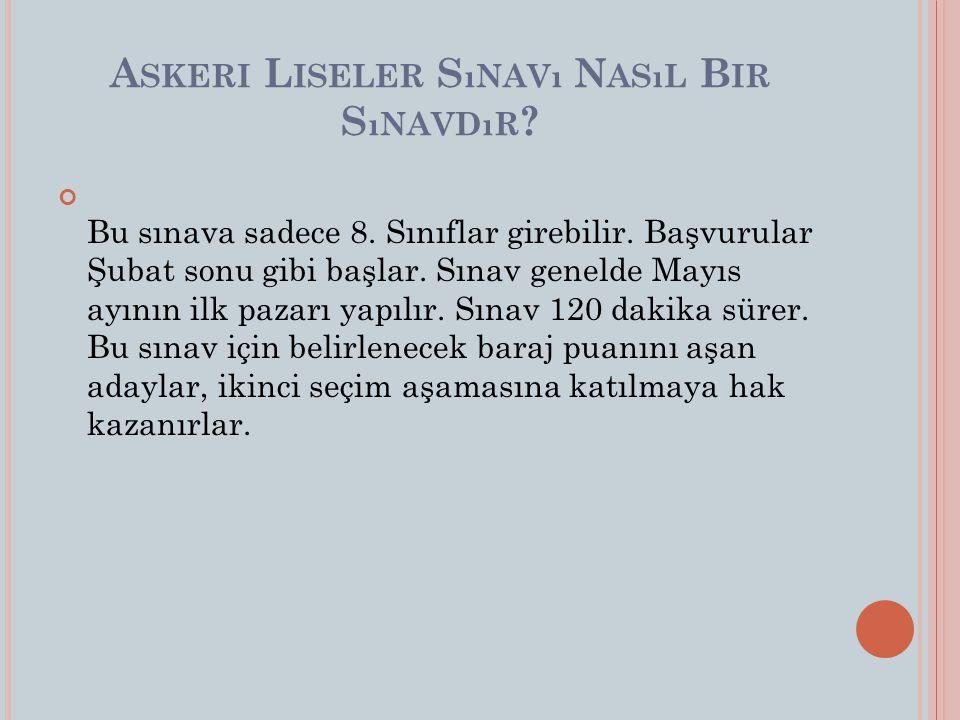 g) En fazla 16 yaşında olmak, ğ) En az 13 yaşında olmak, h) Türkçeyi kusursuz konuşmak (dilinde kekemelik, pelteklik, tutukluk vb.