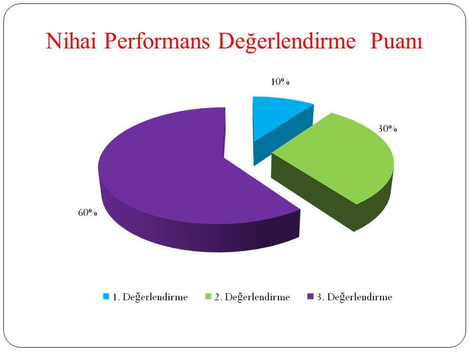Nihai Performans Değerlendirme Puanı
