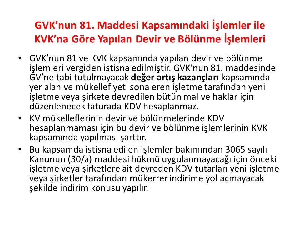 GVK'nun 81.