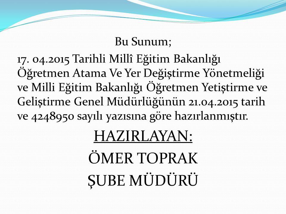 PERFORMANS DEĞERLENDİRME KİMLERİ KAPSAR.